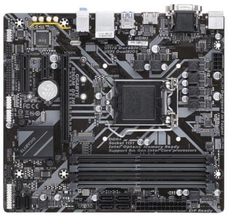 Gigabyte osnovna plošča B360M DS3H, DDR4, SATA3, USB3.1Gen1, LGA1151 mATX