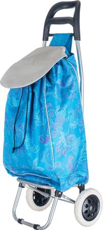 BRILANZ torba na zakupy na kółkach Carrie, niebieska