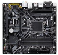 Gigabyte osnovna plošča H370M D3H, DDR4, SATA3, USB3.1Gen2, HDMI, LGA1151 mATX