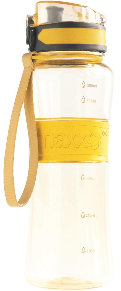 MAXXO Sportovní láhev 600 ml, žlutá