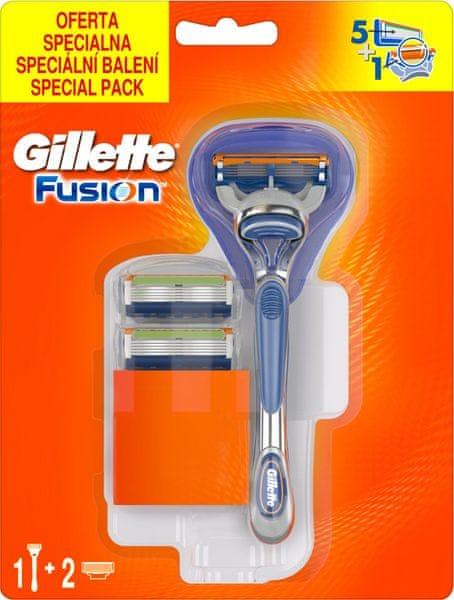 Gillette Fusion Pánský holicí strojek + 3 holicí hlavice
