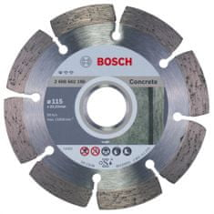 Bosch diamantna rezalna plošča Professional for Concrete 115 x 22 mm (2608602196)