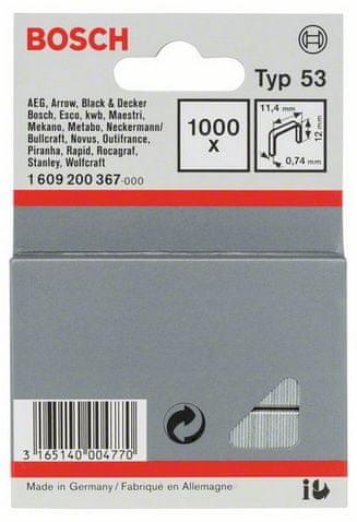 Bosch spajalica od tanke žice, tip 53 (1609200367)