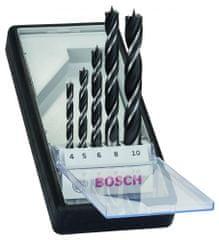 Bosch 5-delni komplet spiralnih svedrov za les Robust Line (2607010527)