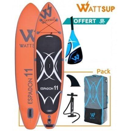 WattSup napihljiv SUP Espadon 11, 335 x 81 x 15 cm