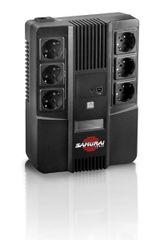 Samurai Power brezprekinitveno napajanje AiO 800, Line-Interactive 800VA/480W