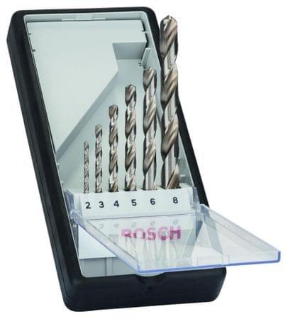 Bosch 6-delni komplet svedrov za kovino Robust Line HSS-G, 135° (2607010529)