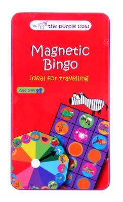 Purple Cow potovalna igra Bingo