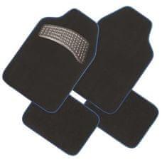 Finish Line tekstilni predpražnik, črno-moder