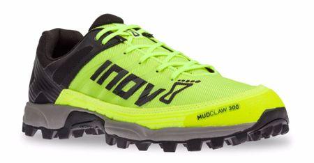 Inov-8 tekaški čevlji Mudclaw 300 NEON, rumeno-črni, 37,5