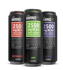 AminoPRO napitek BCAA, 330 ml, hruška/ingver, 24 pločevink