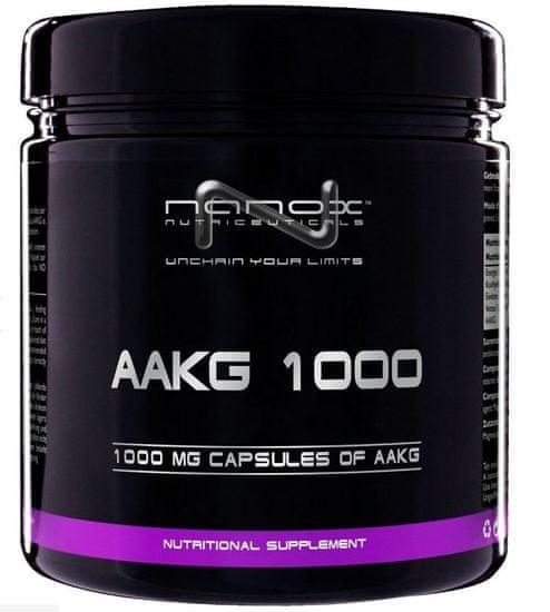 Nanox kapsule Arginin AAKG, 1000 mg, 180 komada