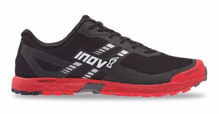 Inov-8 moški tekaški čevlji TRAILROC 270 (M), črno-rdeči, 44,5