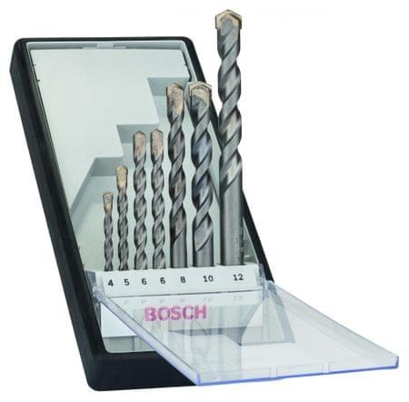 Bosch 7-delni komplet svedrov za beton Robust Line CYL-3 (2607010545)