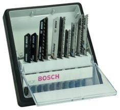Bosch 10-delni komplet listov za vbodne žage Robust Line Top Expert, T-steblo (2607010574)
