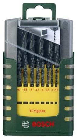 Bosch 19-delni komplet svedrov za kovino HSS-R (2607017151)