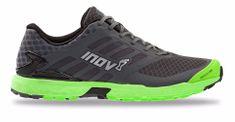 Inov-8 moški tekaški čevlji TRAILROC 285 (M), sivo/zeleni