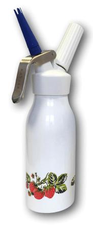 Kayser butelka do robienia bitej śmietany CHANTILLY 0,5 l, truskawka