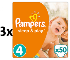 Pampers Pleny Sleep&Play 4 Maxi - 150 ks