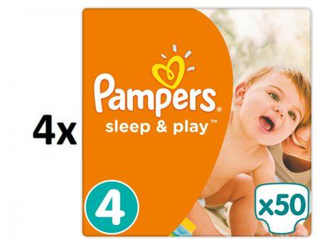 Pampers pieluchy Sleep&Play 4 Maxi - 200 szt