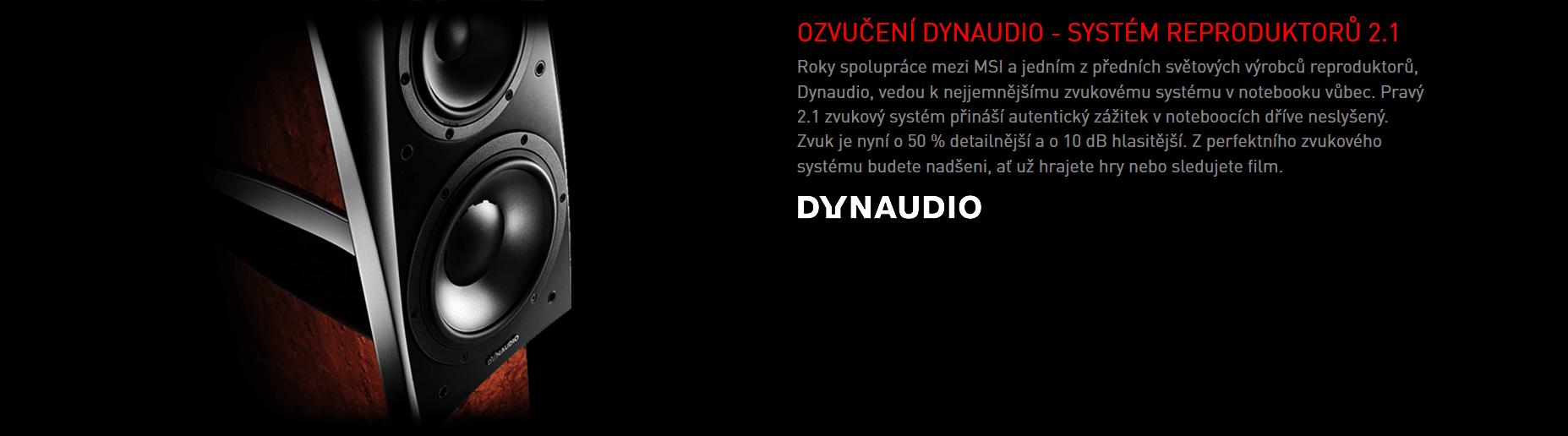 Ozvučení Dynaudio - systém reproduktorů 2.1