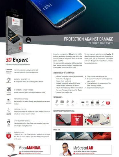 My Screen protector zaščitna folija 3D Expert za Samsung Galaxy S9 Plus G965
