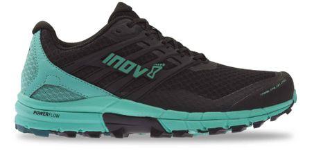Inov-8 ženski tekaški čevlji TRAILTALON 290 (W), črno/zeleni, 39,5