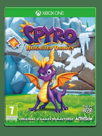 Activision Spyro Reignited: Trilogy za Xbox One (igra izlazi 21.9.2018)