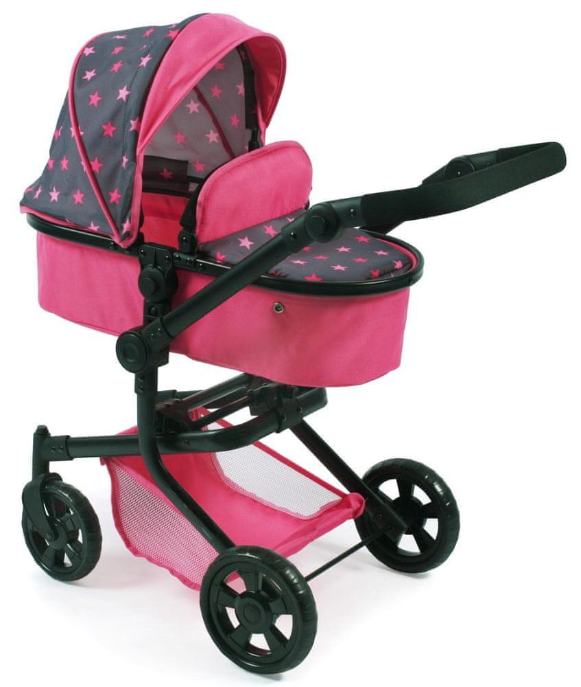 Bayer Chic Kombinovaný kočárek MIKA, růžová/šedá
