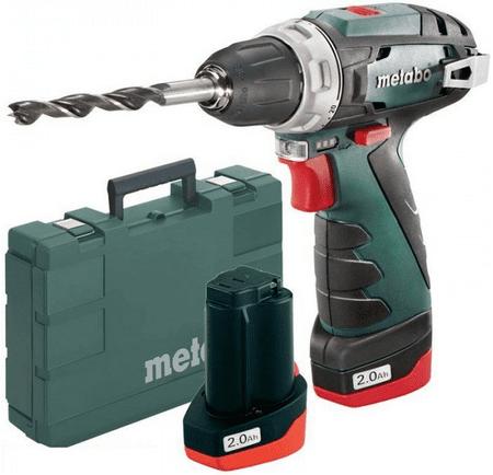 Metabo wiertarko-wkrętarka akumulatorowa PowerMaxx BS Basic (600080500)