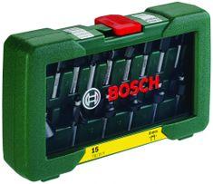 Bosch 15-delni komplet rezkarjev iz karbidne trdine, 8 mm (2607019469)