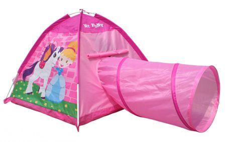 iPlay igralni šotor Poni, s tunelom