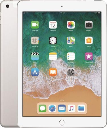 Apple iPad 2018, 32GB, Wi-Fi/LTE (MR6P2FD/A) - Silver