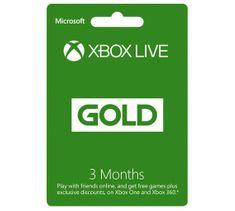Microsoft Xbox Live Gold - 3 měsíce (S2T-00006)