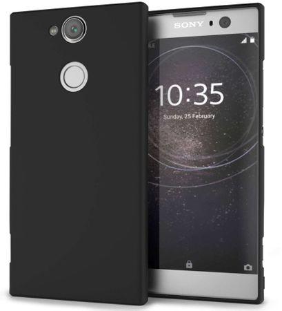 Silikonski ovitek za Sony Xperia XA2, mat črn
