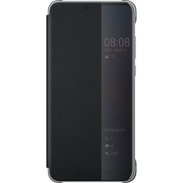 Huawei Original S-View Pouzdro Black pro P20