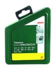 Bosch 13-delni komplet svedrov za kovino HSS-TiN (2607019436)