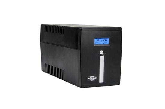 Samurai Power UPS brezprekinitveno napajanje SMART 2000 LCD, Line-Interactive 2000VA/1200W LCD