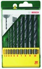 Bosch 10-delni komplet svedrov za kovino HSS-R (2607019442)