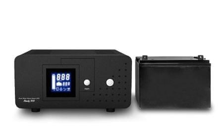 Well rezervno napajanje za ogrevalne sisteme HEAT PSU-500 + 100 Ah baterija