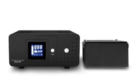 Well rezervno napajanje za ogrevalne sisteme HEAT PSU-500 + 65 Ah baterija