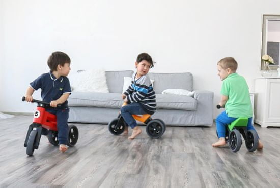 Teddies Funny Wheels New Sport 2v1 trikolesnik
