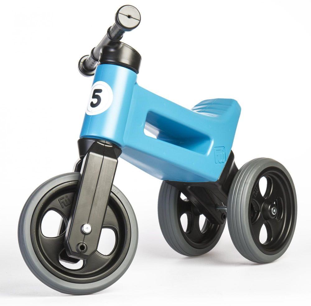 Teddies Odrážedlo Funny Wheels New Sport 2v1 modrá
