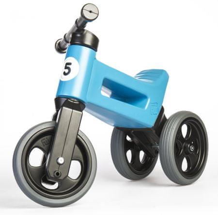 Teddies Rowerek Funny Wheels New Sport 2v1 niebieski