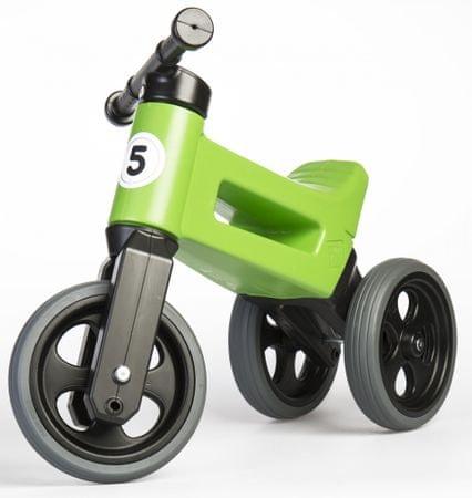 Teddies Rowerek Funny Wheels New Sport 2v1 zielony