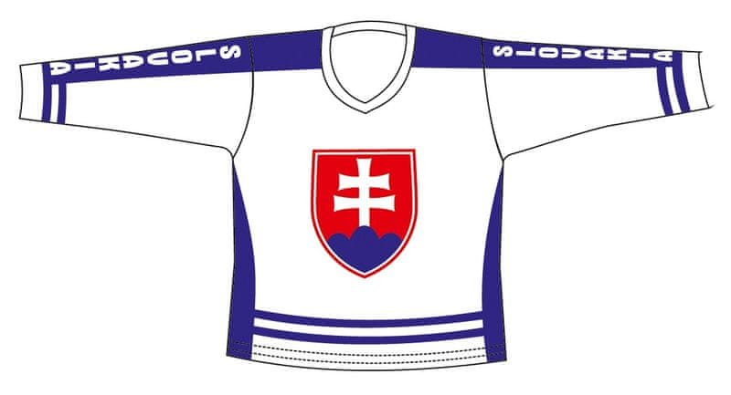 Hokejový Dres SR Biely XL
