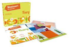 Piroddi Chiara: TVARY. Montessori - Svět objevování