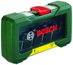 Bosch 6-delni komplet rezkarjev iz karbidne trdine, vpetje 6 mm (2607019464)