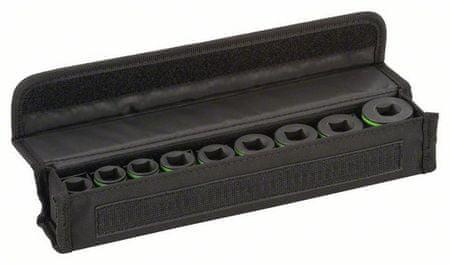 Bosch 9-delni set natičnih ključev, 1/2 (2608551100)