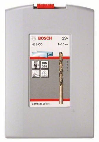 Bosch set svedrov za kovino Pro Box HSS-Co (2608587014)